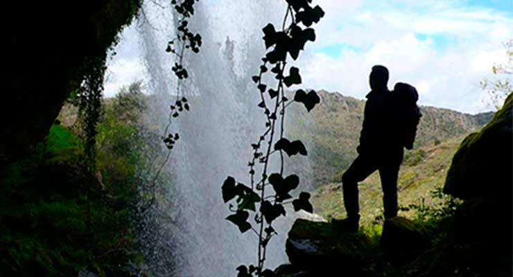 Cascada del Pozairón. Pereña de la Ribera.