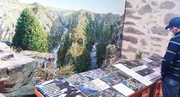 Casa del Parque de Las Arribes del Duero en Sobradillo