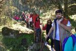 VILVESTRE: un millar de senderistas disfrutan de la XXI Marcha Arribes del Duero