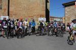 Más de un centenar de ciclistas toman la salida en la Marcha BTT ´Pozo de los Humos´