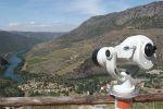 La Diputación instala un telescopio de uso gratuito en el mirador del Salto en Saucelle