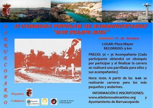 II CARRERA POPULAR DE BARRUECOPARDO ´SAN FELIPE 2015´