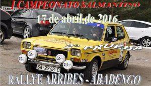RALLYE ARRIBES-ABADENGO
