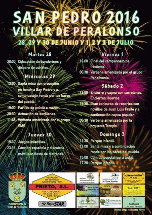 Fiestas Patronales de San Pedro 2016