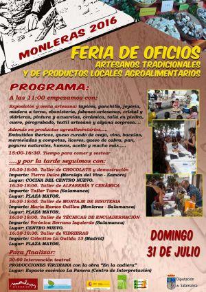 FERIA DE OFICIOS ARTESANOS TRADICIONALES Y PRODUCTOS LOCALES AGROALIMENTARIOS