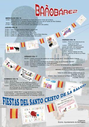 FIESTAS DEL SANTO CRISTO DE LA SALUD