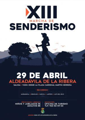 XIII MARCHA DE SENDERISMO - ALDEADÁVILA