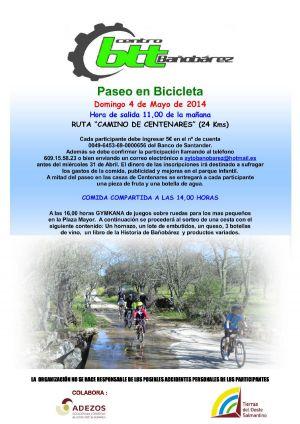 Paseo en Bicicleta (24 Kms.)