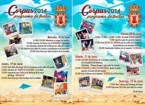 Fiestas del Corpus 2014