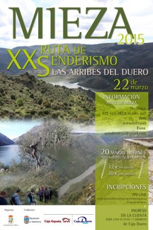 XX Marcha de Senderismo. MIEZA