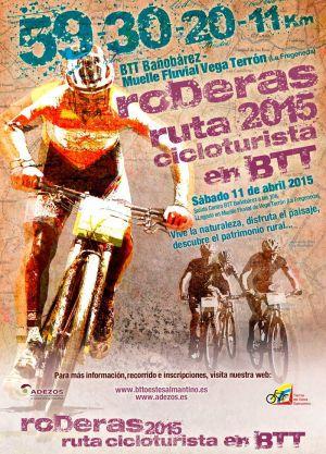 Ruta cicloturista BTT, RODERAS 2015